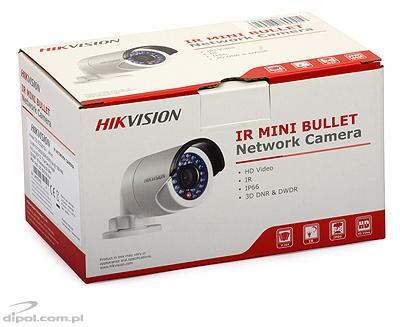 Câmara Compacta IP: Hikvision DS-2CD2012-I (1.3MP, 4mm, 0.01 lx, IR até 30m)