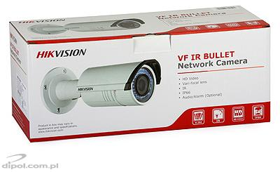 Kamera IP kompaktowa Hikvision DS-2CD2632F-I (3 MPix, 2.8 -12 mm, 0.07 lx, IR do 30m)