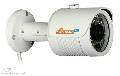 Kompaktná IP kamera: Signal HDC-110P (2MP, 3.6mm, 0.1 lx, IR do 25m)
