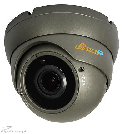 IP Dome Camera: Signal HDV-200P (2MP, 2.8-12mm, 0.01 lx, IR up to 30m, H.265/H.264, PoE)