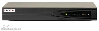 Rejestrator IP NVR Ultimax 2104