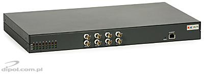 Video Server: ACTi ACD-2300 (8 MPEG-4 ch. with audio)