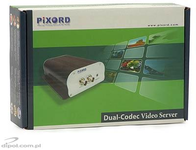 Video Server MJPEG/MPEG-4 Pixord P1401-výprodej