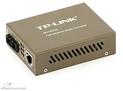 Media konwerter TP-LINK MC100CM - 100 Mb/s, wielomodowy, SC, do 2 km