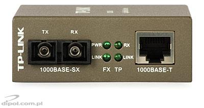 Ethernet Media Converter ULTIMODE M-023M (two multimode fibers up to 2km)