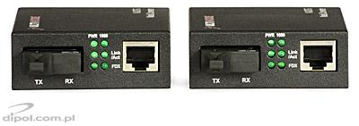 Ethernet Media Converter ULTIMODE M-207M (one single-mode fiber up to 20km)