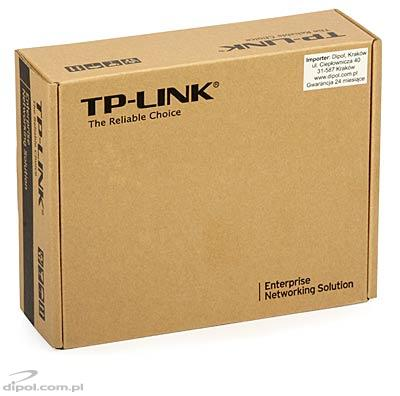 Ethernet Media Converter: TP-LINK MC111CS (100Mb/s, single-mode, TX 1550nm, RX 1310nm, SC, 20km)