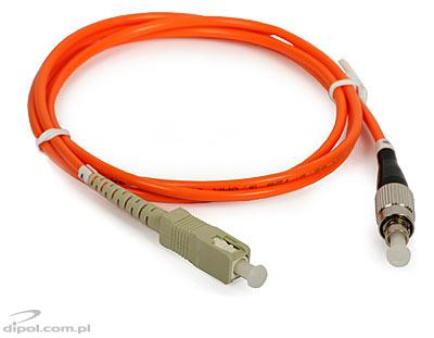 Patchcord fibra multimode: ULTIMODE PC-013S<br /> (1m, SC - FC, 62.5/125)