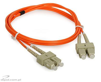 Multimode Patchcord ULTIMODE PC-011D<br />(double, 2 x SC to 2 x SC, 62.5/125)