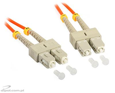 Patchcord SC duplex multimode ULTIMODE PC-011D (1m, 62.5/125)