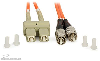 Patchcord multi-mode ULTIMODE PC-013D<br />(2 x SC - 2 x FC, 62,5/125) - VÝPREDAJ!