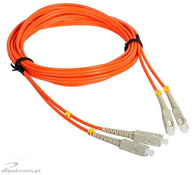 Multimode Patchcord ULTIMODE PC-013D<br />(duplo, 2 x SC a 2 x FC, 62.5/125)