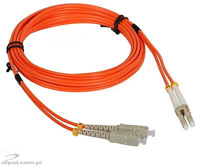 Multimode patch kabel ULTIMODE PC-015D (2xSC-2xLC, 50/125)
