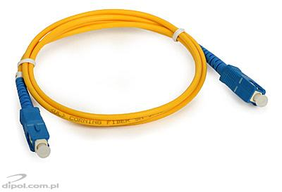 Patchcord single-mode ULTIMODE PC-511S<br />(1 x SC - 1 x SC, 9/125)
