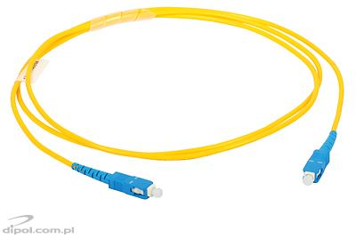 Patchcord jednomodowy ULTIMODE PC-511S SC-SC, simplex, G.652D 1m