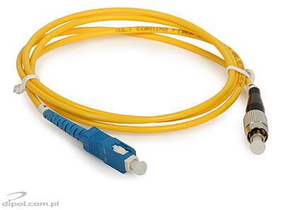 Patchcord jednomodowy ULTIMODE PC-513S SC-FC, simplex G.652D 1m