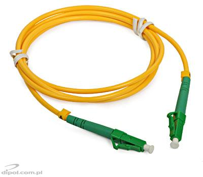Monomodo Patch Cord ULTIMODE PC-566S (1xLC/APC-1xLC/APC, 9/125)