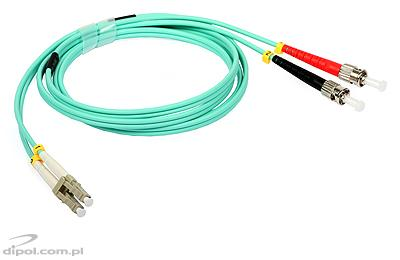 Patchcord multimode ULTIMODE PC-357D (2xLC-2xST, 1.5m OM3 duplex)
