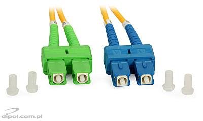 Single-mode Patchcord ULTIMODE PC-512D<br />(double, 2 x SC to 2 x SC/APC, 9/125)