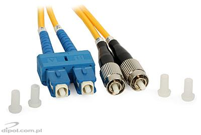 Single-mode Patchcord ULTIMODE PC-513D<br />(duplo, 2 x SC a 2 x FC, 9/125)