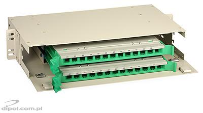 Patch panel optic ODF 2U 24 porturi ULTIMODE MT-624 (include 2 casete 12 x SC simplex)