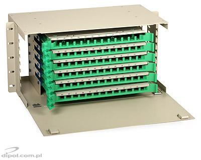Patch panel optic ODF 4U 72 porturi ULTIMODE MT-672 (include 6 casete 12 x SC simplex)
