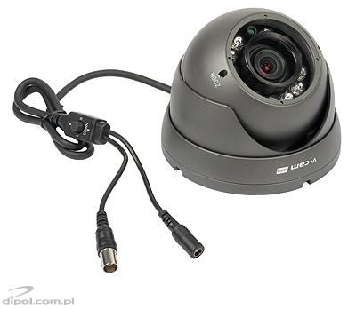 Vandal Proof CCTV Camera: V-CAM 515 + IR<br />(with bracket)