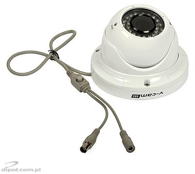 Antivandalská kamera: Sunell IRC13/40AUVD/M (day/night, D-WDR, 900TVL, Sony Exmor, ICR, 0.01 lx, 2.8-12mm, OSD, IR do 25m)
