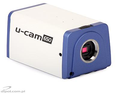 Day/Night Box Camera: u-cam 650 (650TVL, Sony Effio-E, ICR, D-WDR, 0.03 lx)