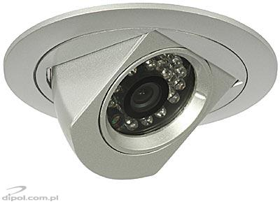 Color CCTV Camera: CAM - 500 + IR<br />(mounted in drywall)