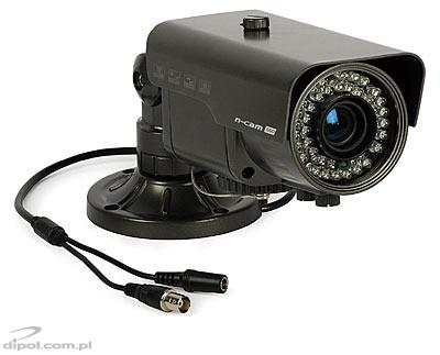 Color CCTV Camera: n-cam 680 (600 TVL, Sony Super HAD II CCD, 0.01 lx, 2.8-12mm, IR 30m)