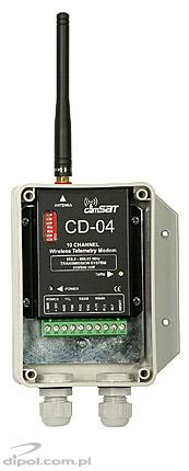 Wireless Telemetry Module CD04 (for PTZ cameras)