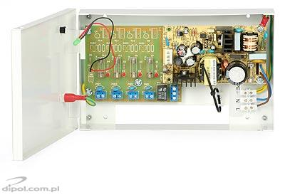 Stabilized Power Supply ZK-25 (12VDC, 4x0.5A)