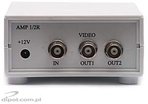 Amplificator de semnal video AMP 1/2R