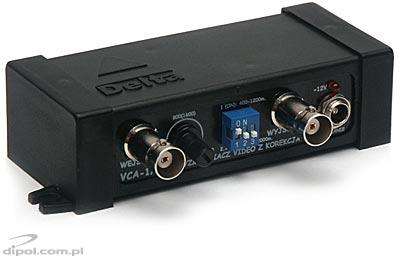 Video Signal Amplifier VCA-4/1200 (1-in/1-out, with correction)