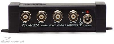 Video Signal Amplifier VCA-4/1200 (with correction)