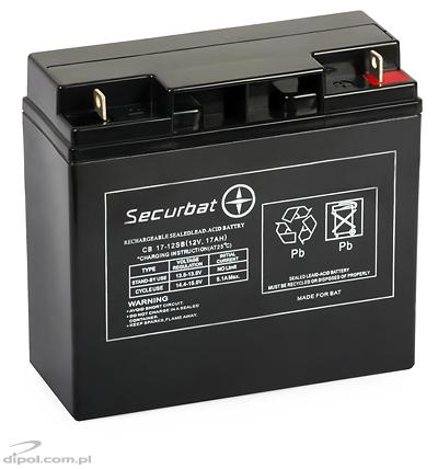 Rechargeable Battery CB 17-12 SB (12V, 17Ah)