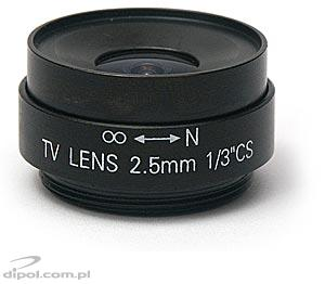 CCTV Lens: JENSEN 2.5 mm F2.0 - CLEARANCE SALE!