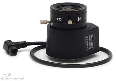 CCTV Lens: JENSEN 3.5 - 8 mm DC F1.2 - CLEARANCE SALE!