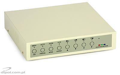 CCTV Quad/Switch: TQ-1262B/YK-9003 (4 inputs, sequence)