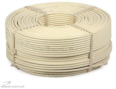 CCTV Cable: CAMSET/YAR-75 PVC 0.80/3.7 (90% Al braid coverage) [100m]