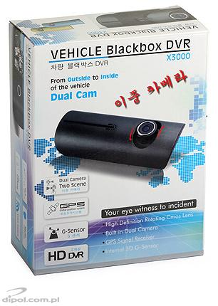 Car DVR camera system: PROTECT 802 (2 channels, GPS, accelerometer)