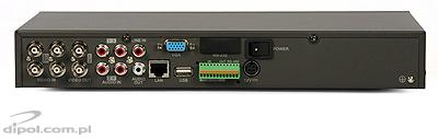 DVR retea: ULTIMAX-204 (H.264, 4 canale)
