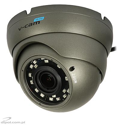 Camera HD-TVI FullHD V-CAM 560 (1080p, 2.8-12mm, 0.01 lx, dome, IR max. 30m, PAL, AHD, HD-CVI)