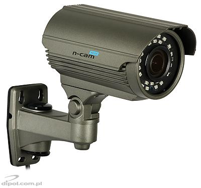 HD-TVI Compact Camera N-CAM 760 (1080p, 2.8-12mm, 0.01 lx, IR up to 40m; CVBS, AHD, HD-CVI)