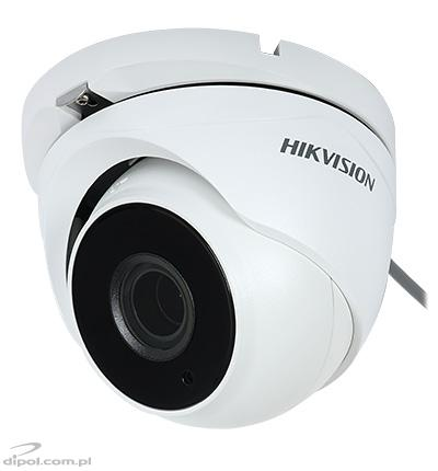 HD-TVI TURBO HD 3.0 kamera: Hikvision DS-2CE56F7T-IT3Z (stropná, 3MPix, 2,8-12 mm motozoom, 0,01 lx, IR do 40m)