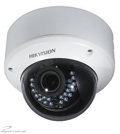 HD-TVI TURBO HD 3.0 Camera: Hikvision DS-2CE56F7T-AITZ (ceiling, 3MP, 2.8-12 mm motozoom, 0.01 lx, IR up to 30m)