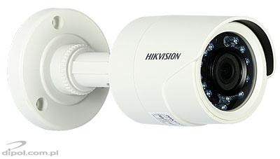HD-TVI TURBO HD Camera Hikvision DS-2CE16C0T-IRP (compact, 720p, 2.8mm, 0.1 lx, IR up 20m)