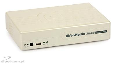 IP DVR/NVR: AverMedia EXR6004Mini (4-ch. H.264 VGA) - CLEARANCE SALE!