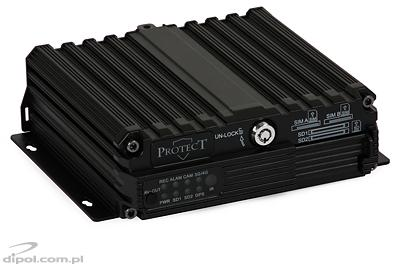 DVR auto Protect 114 (4 canale, 2x slot SD,)